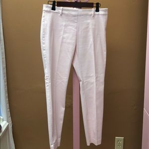 Pale pink ankle length dress pants